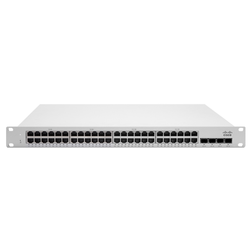 [MS210-48LP-HW] ราคา จำหน่าย Cisco Meraki MS210-48LP 1G L2 Cld-Mngd 48x GigE 370W PoE Switch