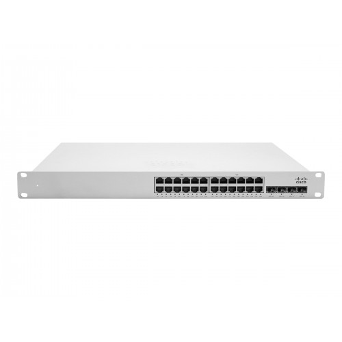 [MS350-24P-HW] ราคา ขาย จำหน่าย CISCO Meraki MS350-24P L3 Stck Cld-Mngd 24x GigE 370W PoE Switch