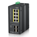 [RGS200-12P] ราคา ขาย จำหน่าย ZyXEL Industrial Grade 12-port Gigabit Managed High Power PoE+ Rugged Switch