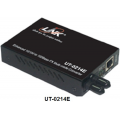 [UT-0214] ราคา ขาย จำหน่าย 10/100 Mbps MINI Media CONVERTER, RJ45, ST (MM.) Fiber, DISTANCE Up to 2 km.